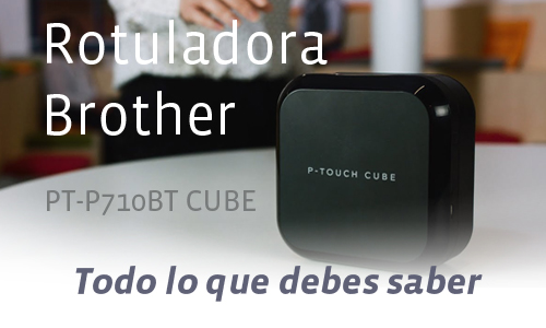 BROTHER PT-P710BT CUBE